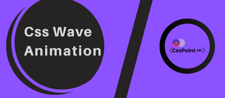 css wave animation