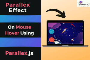 Parallax on hover effect