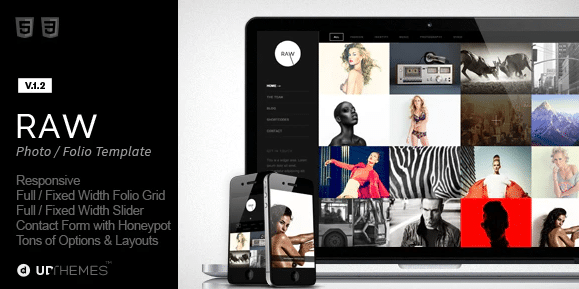 grid layout html template