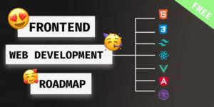 frontend web development roadmap